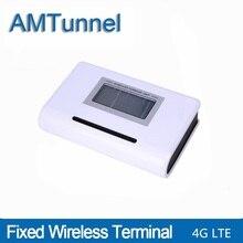 4G LTE fixed wireless terminal telefon LTE 4G FWT destop telefon mit LCD display für anschluss desktop telefon oder PBX oder TK ANLAGE