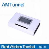 4G LTE   fixed     wireless     terminal   phone LTE 4G FWT destop phone with LCD display for connecting desktop phone or PBX or PABX