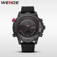 Weide genuine luxury quartz sport relogio digital saat masculino watch silicon analog men automatic alarm clock water resistant