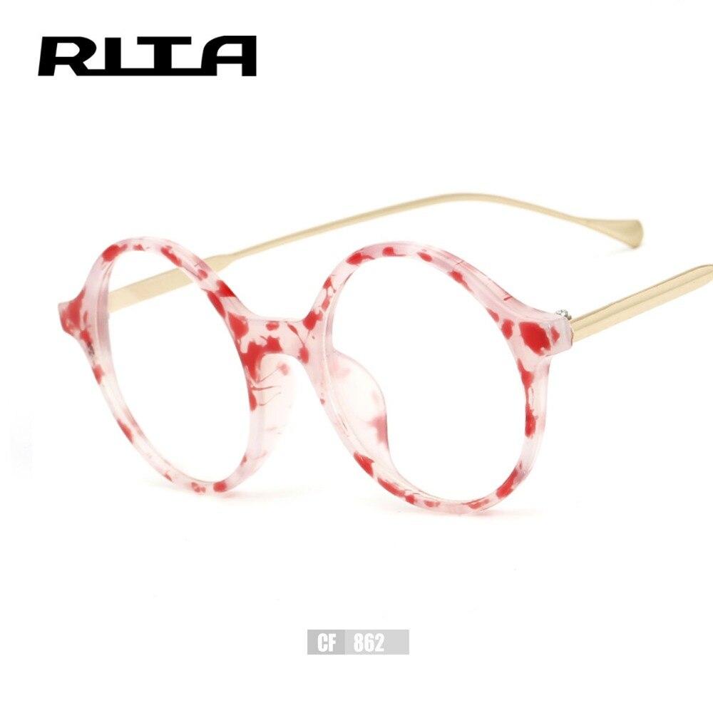 40f7b1363b 2017 Fashion Brand Design Rita Vintage Women Eye Glasses Frame Elegant  Optical Men Glasses Round Frame Eyeglasses CF862 Oculos