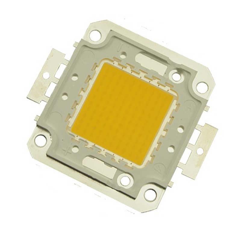 2pcs LED Lamp Chip 10W 20W 30W 50W 100W Cold White Warm White COB For LED Flood Light 45*45mil High Power SMD Spotlight 30-36V
