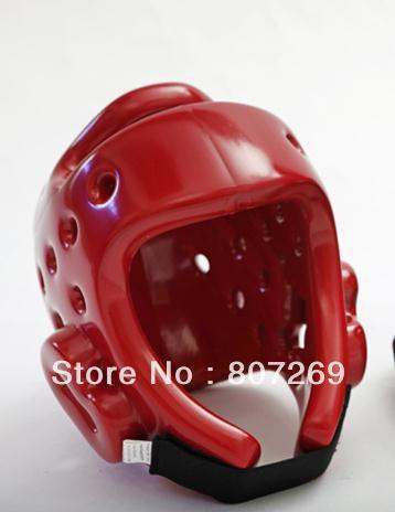 MMA Karate Macho Dyna Sparring Head Gear Boxing Headguard Face Protector Helmet - Red