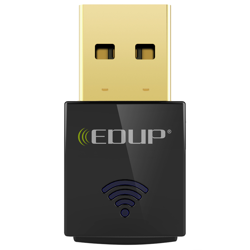 EDUP mini 5ghz usb wifi adapter 600mbps 802.11ac wifi receiver Dual Band USB Ethernet Adapter Network Card for Computer PC адаптер usb edup 1532 300m usb usb wifi