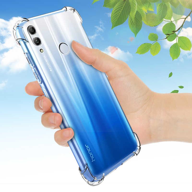 Прозрачный ТПУ чехол для huawei Honor 10i 8 9 10 Lite 8X Max 8C V9 Play 6C Pro Note 10 задняя крышка чехол для P30 P20 mate 20 Lite