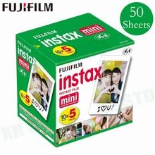Fuji Fujifilm Instax Mini 11 9 8 pellicola bianca bordo foto carte per Mini 7s 90 25 55 condividi SP 1 macchina fotografica istantanea 50 fogli