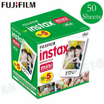 Original Fuji Fujifilm Instax Mini 8 Film White Edge Photo Papers For Mini 9 7s 90 25 55 Share SP-1 Instant Camera 50 sheets - DISCOUNT ITEM  20% OFF All Category