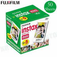 Original Fuji Fujifilm Instax Mini 8 Film blanc bord papiers Photo pour Mini 9 7 s 90 25 55 partager SP-1 appareil Photo instantané 50 feuilles