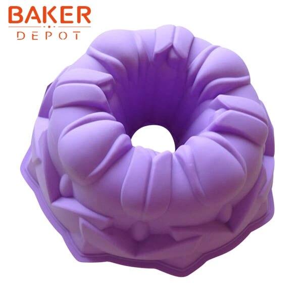 Moldes de pastel de ángulo de 8 pulgadas Molde de pastel de silicona - Cocina, comedor y bar
