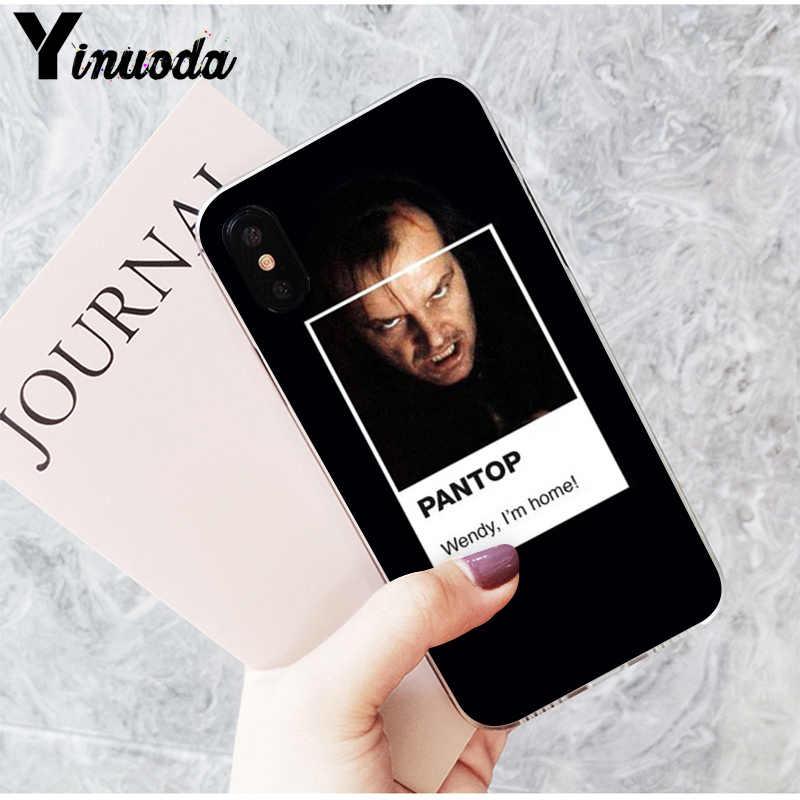 Yinuoda pantone filme popular recém estético caso de telefone para iphone x xsmax 6s 7 mais 8 8 plus 5 5S se xr 10 11 11pro 11promax