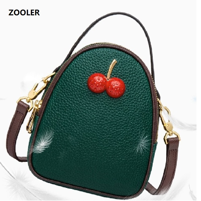 ZOOLER Leather Handbags fashion Women Bag High Quality Casual Female Bags cherry Tote Spanish Brand Shoulder