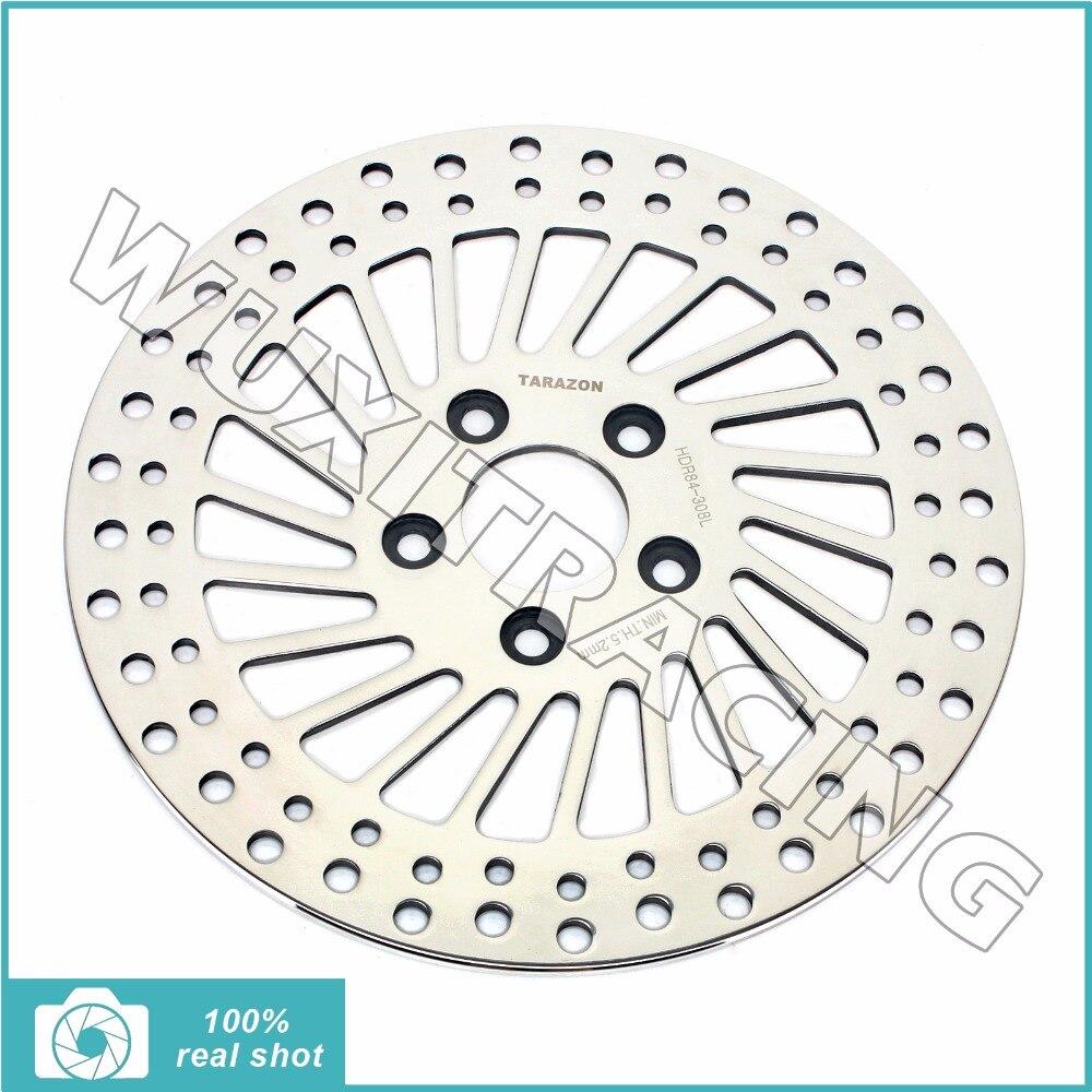 11.5 Rear Brake Disc Rotor for HARLEY DAVIDSON Sportster 883 1000 1100 1200 XLH Dyna 1340 FXDB FXLR FXR FXS FLST FXST 1340 95