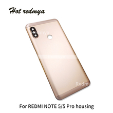 Get more info on the New Spare Parts Rear Cover Housing For Xiaomi Redmi Note 5 Pro Battery Back Cover Door Note 5 Side Key Camera Glass Lens