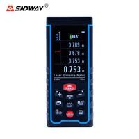 SNDWAY SW S100 Laser Rangefinder Digital Rechargeabel USB 100M 70M 50M Range Finder Distance Mete SW