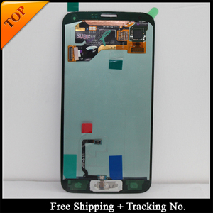Image 1 - 100% tested Super AMOLED LCD For Samsung S5 LCD G900F LCD For S5 G900 G900F G900H Display LCD Screen Touch Digitizer Assembly