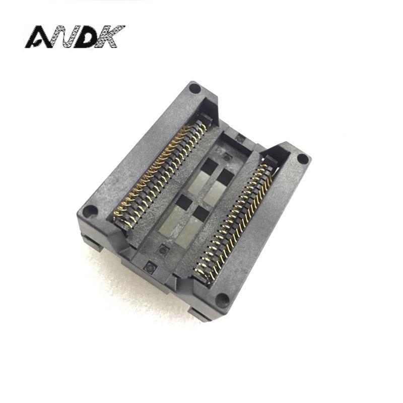 SOP44(44)-1.27 burn-in socket Pitch 1.27mm Burn in Socket SOP44 Test Socket OTS-44-1.27-04 Programmer Adapter