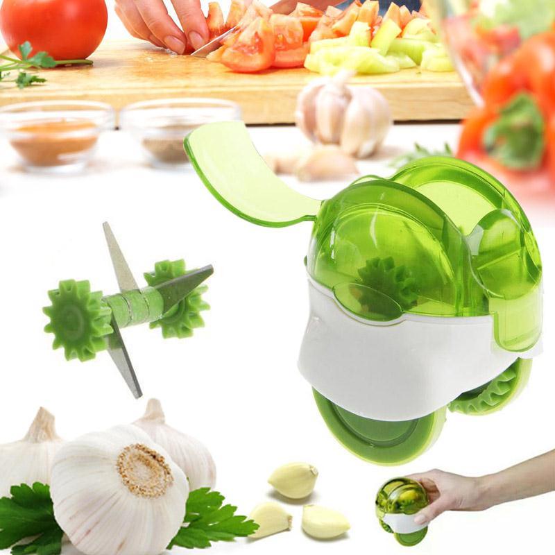 Creative Ail Presse Ail Moulin Coupe legumes Gadget Cuisine ...