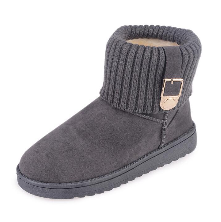 0ba709726 Inverno Femininos Mulheres Botas Style Super Camurça Algodão Adicionar Neve  2019 picture Ankle Picture Boots Style Pelúcia Calçados ...