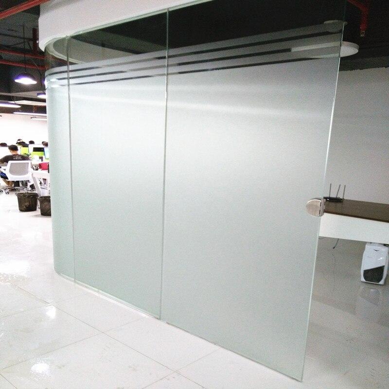 Adesivo de vidro fosco sem cola filme janela privacidade para escritório banheiro quarto loja estática adere diy filme decorativo raamfolie