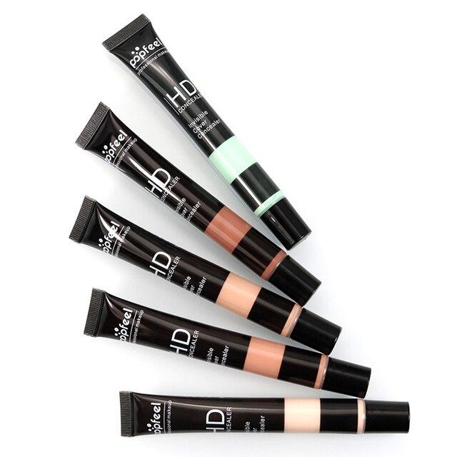 POPFEEL Liquid Concealer Face Foundation Cover Dark Eye Circle Makeup Corrector Base 5 Colors Hot Sale TSLM1 2