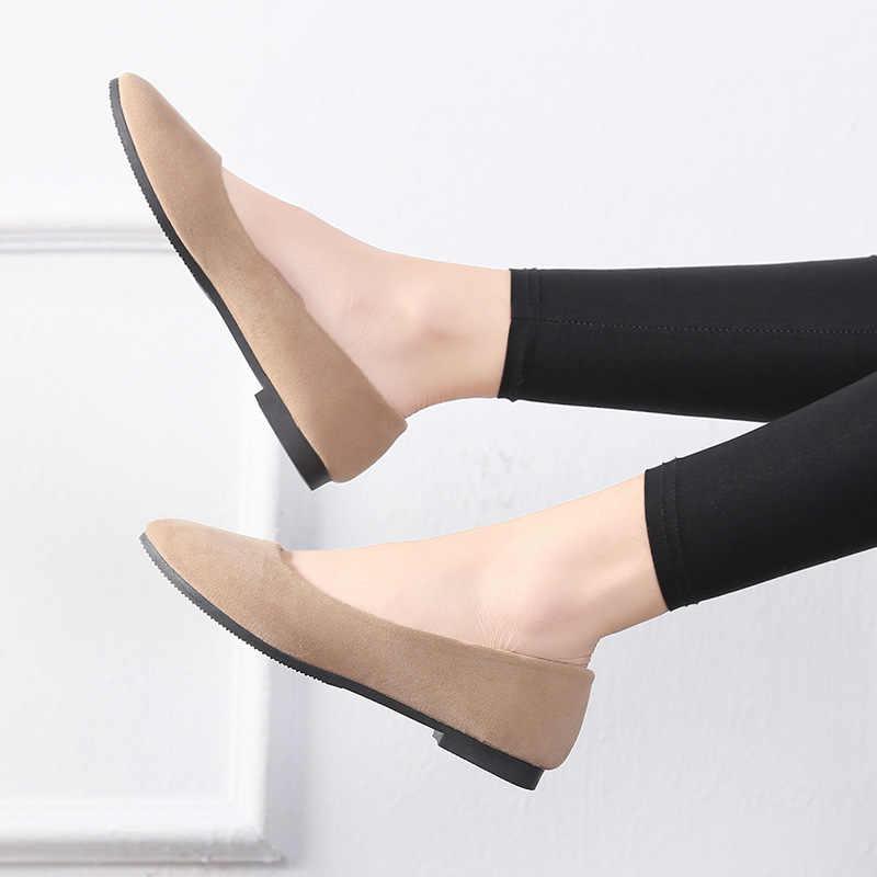Eagsité femmes chaussures plates bout pointu sans lacet confortables mocassins danse fête travail bureau carrière chaussures décontractées