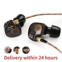 In Ear Earphone KZ ATES ATE ATR HD9 Copper Driver HiFi Sport Headphones In Ear Earphone