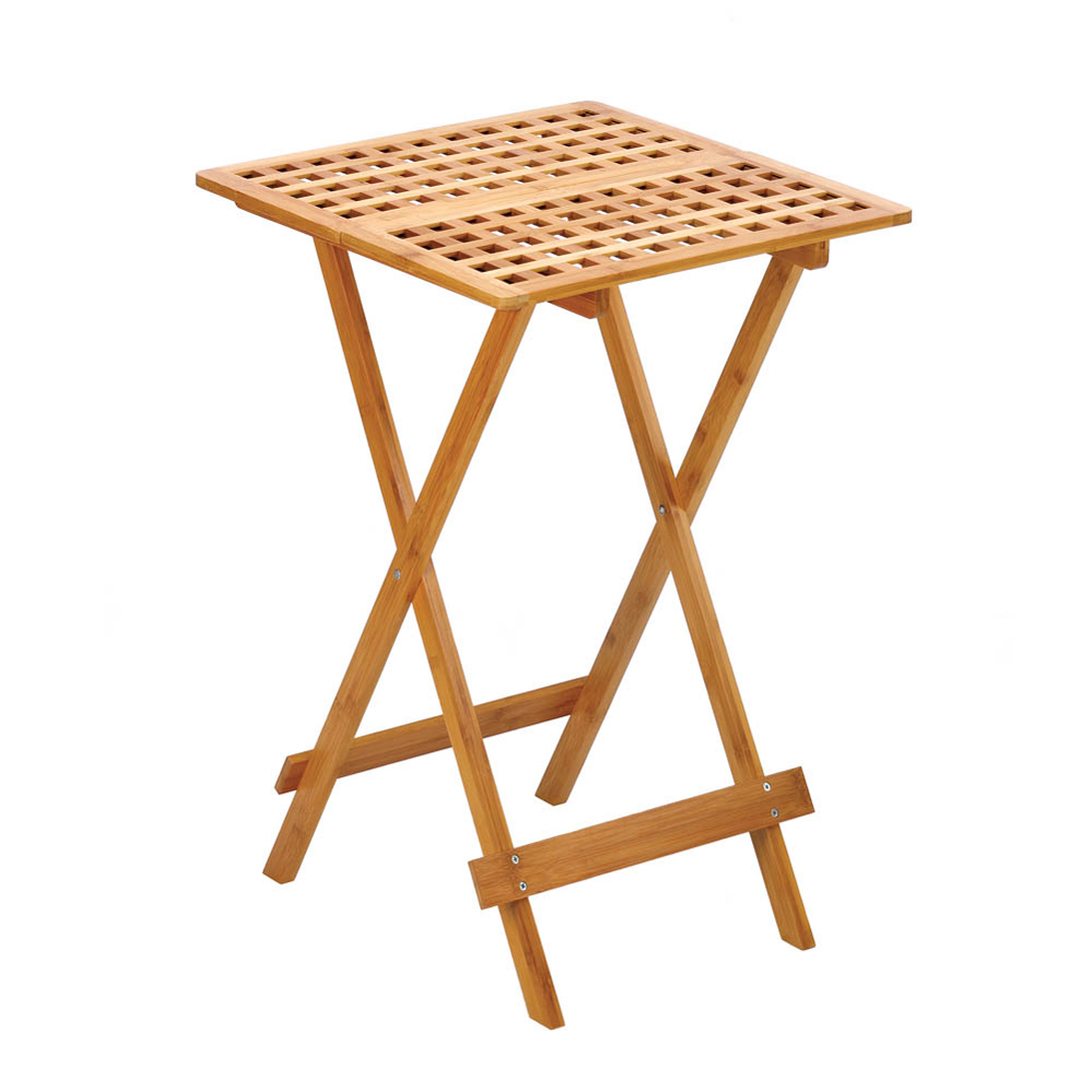 Koehler Wood Folding Tray Table