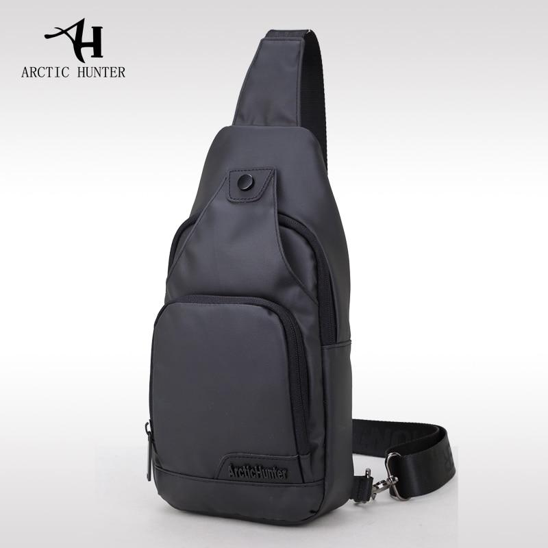 ARCTIC HUNTER Oxford Cloth Fabric Crossbody Bags for Men Messenger Chest Bag Pack Casual Bag Waterproof Single Shoulder Bag
