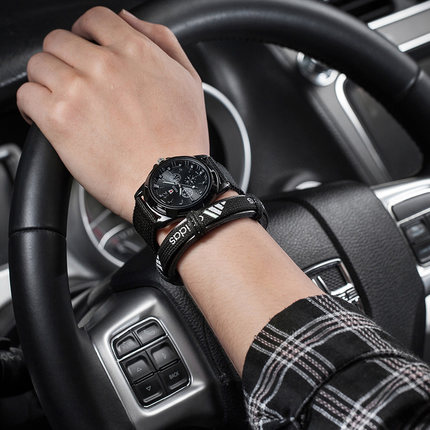 Luminous Korean version of the simple casual men s watch male middle school students and young
