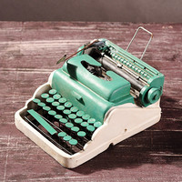 Creative Gifts Resin Typewriter Antique Imitation decoration Retro do old Craft Home Bar Decor