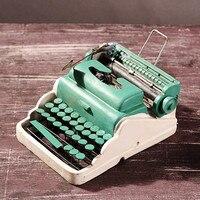 Creative Gifts Resin Typewriter Antique Imitation decoration Retro do old Craft Home Bar Decor