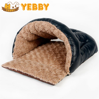 Cat Bed Warm Cosy Tough Sack Small Dog Pet Kennel Removable Multifunctional Cushion