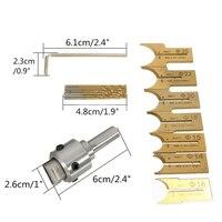 16pcs 14 25mm Carbide Milling Cutter Router Bit Buddha Ball Woodworking Tools Wooden Beads Ball Blade