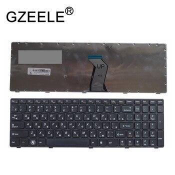 Gzeele Nieuwe Voor Lenovo Y570 Y570n Y570i7 Y570 Y570D Russische Laptop Toetsenbord Ru Versie Brand New Vervang Toetsenborden Zwart Frame