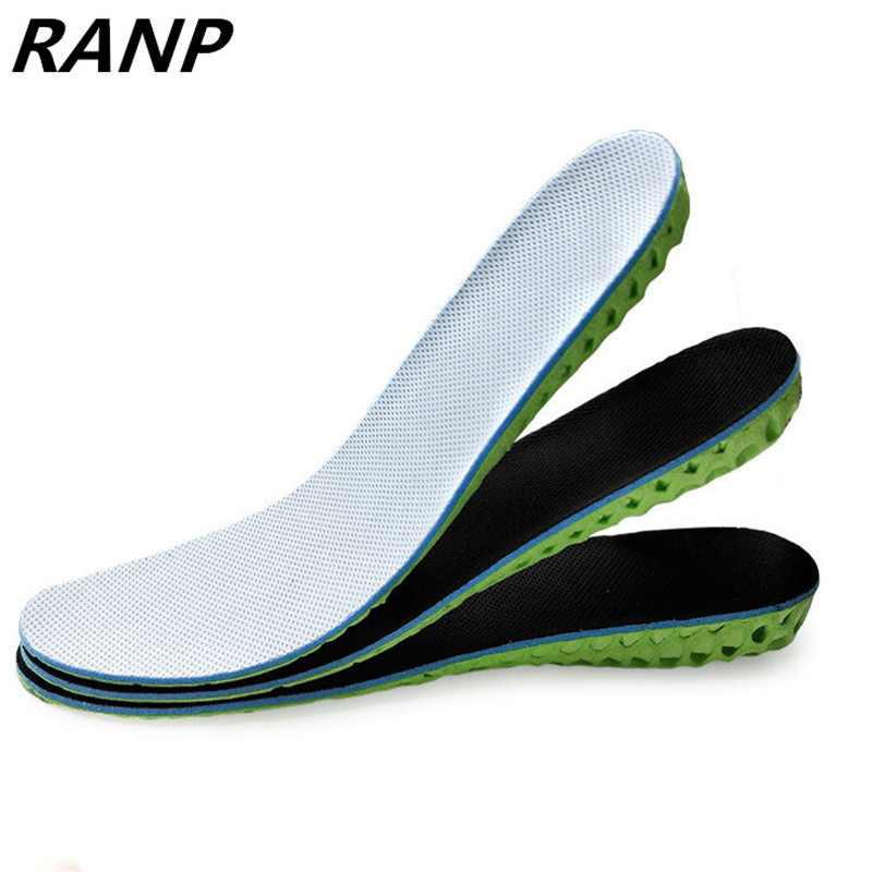 Height Increase EVA Gel Flat Foot Silicone Arch Support Orthopedic Shoe Flat Feet Pad Lift Air Cushion Memory Foam Insole Soles