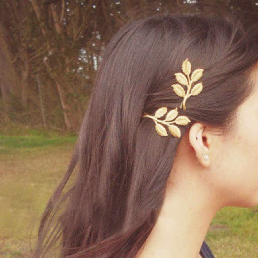 1 Pcs פשוט אטמוספרי סגנון Baitie פרל ליידי של זהב שיער קליפ עיצוב הצמד Barrette סיכת ראש מקל שיער סטיילינג אבזרים