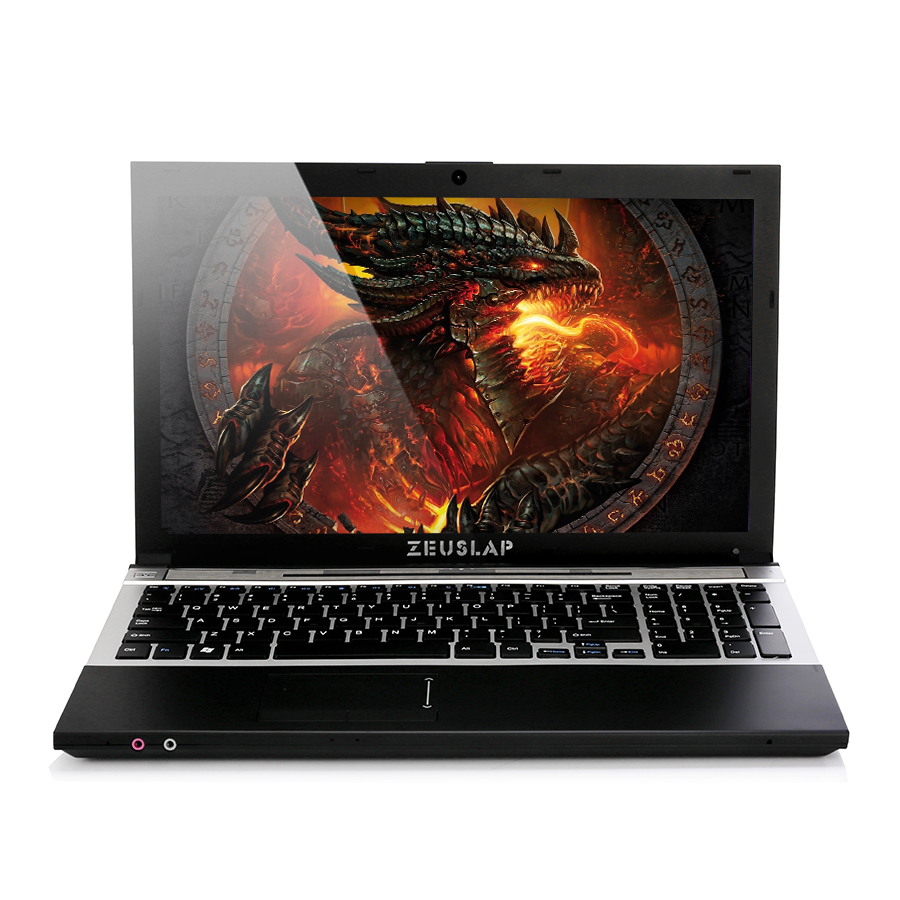 15.6 pouces intel i7 8 GO de Ram + 256 GO SSD + 2 TO HDD 1920x1080 P Double disques DVD Rom WIFI bluetooth Windows 10 Notebook PC ordinateur portable