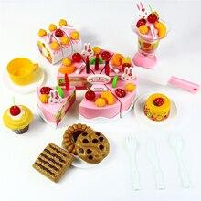 Дню ко притворись раннего образования торт пищевой классические пластик играть модель