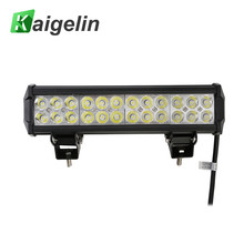 4PCS Car Light Bar 72W LED Spotlight 7200LM 12-24V IP67 Worklight For Off Road Truck SUV Bus Front Bumper Lamp Outdoor Lighting(China)
