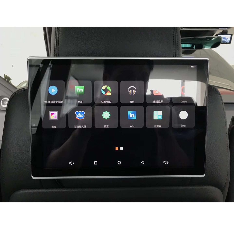 11 8 inch Car Android Head Rest DVD Monitor With Wifi Bluetooth Music Video Rear Seat Entertainment System For Range Rover Sport in Car Monitors from Automobiles Motorcycles