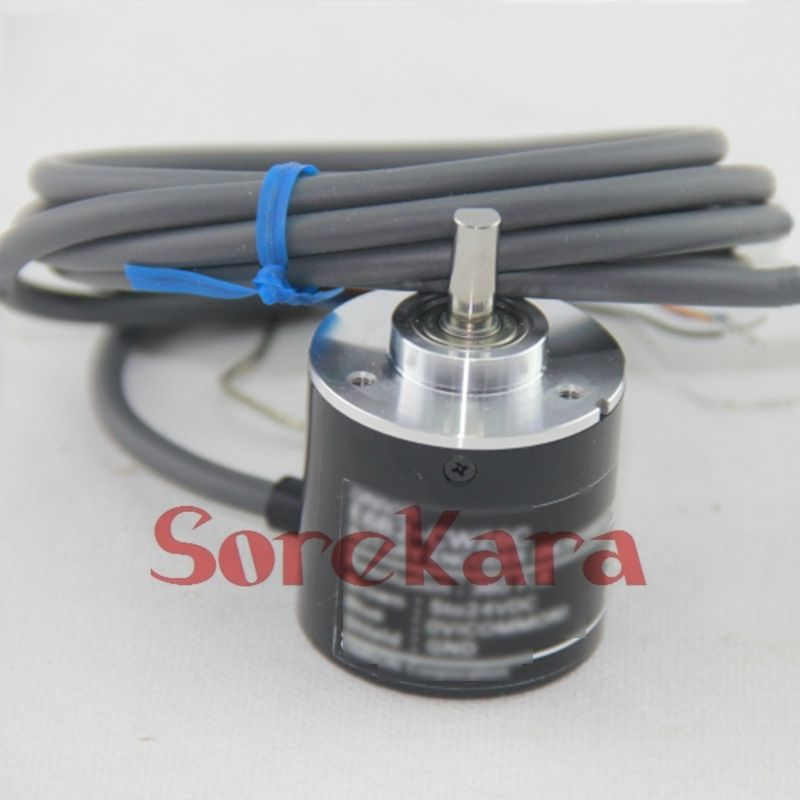 Incremental Rotary Encoder E6B2-CWZ6C 10-2000P/R CNC Servo Stepper Motor 2500p r dc 5 24v powered electric rotary encoder e6b2 cwz6c