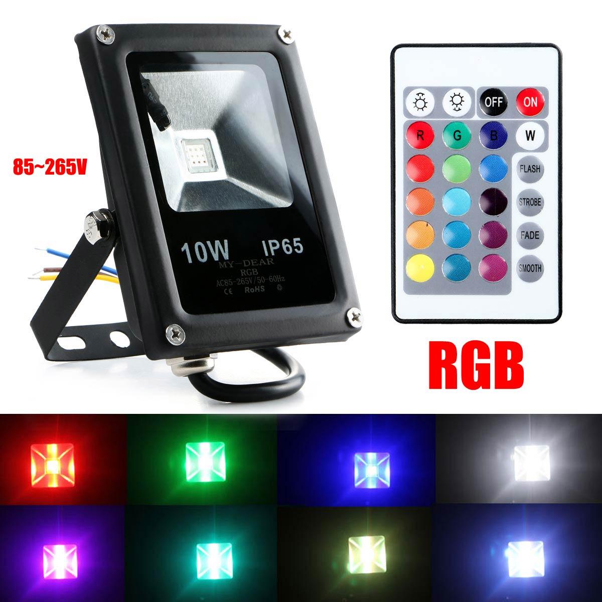 Aliexpress.com : Buy Brand New LED Flood Light RGB 10W