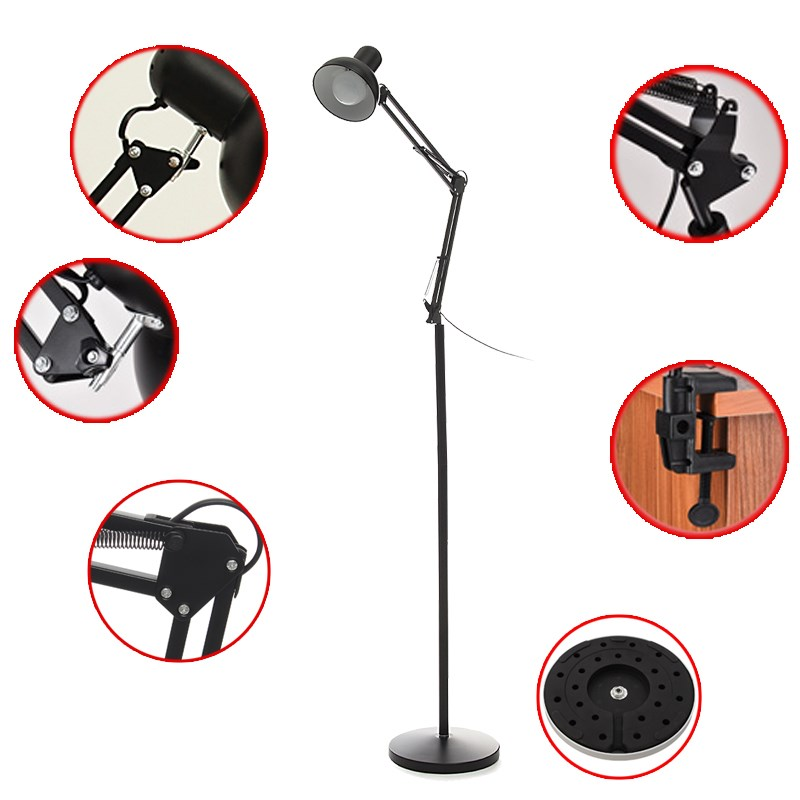 цена Permanent Makeup Equipment LED Lamp Floor/Table Light Cold Shadowless Lamps For Beauty Tatoo Grafting Eyelash Nail Salon Supply