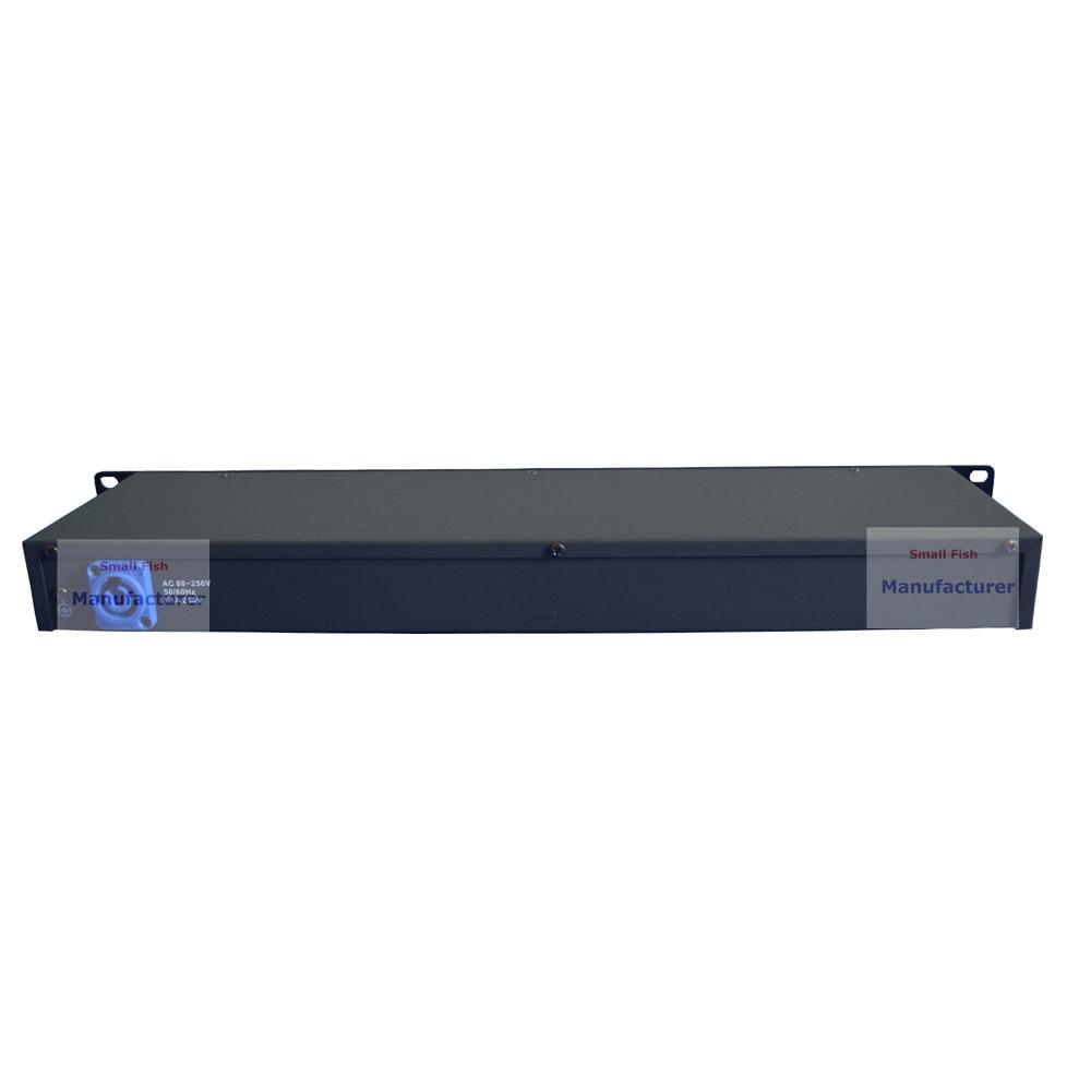 2 pz/lotto DHL/FedEx Libero DMX512 Splitter Luce Amplificatore di Segnale Splitter Otto Vie Distributore DMX Per Luce in movimento Della Testa - 3