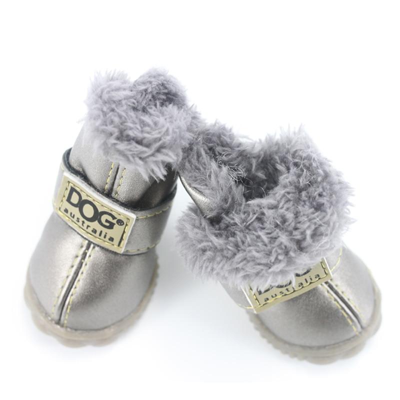 Zapatos de perro para mascotas Invierno Super caliente 4 unids / set - Productos animales - foto 2