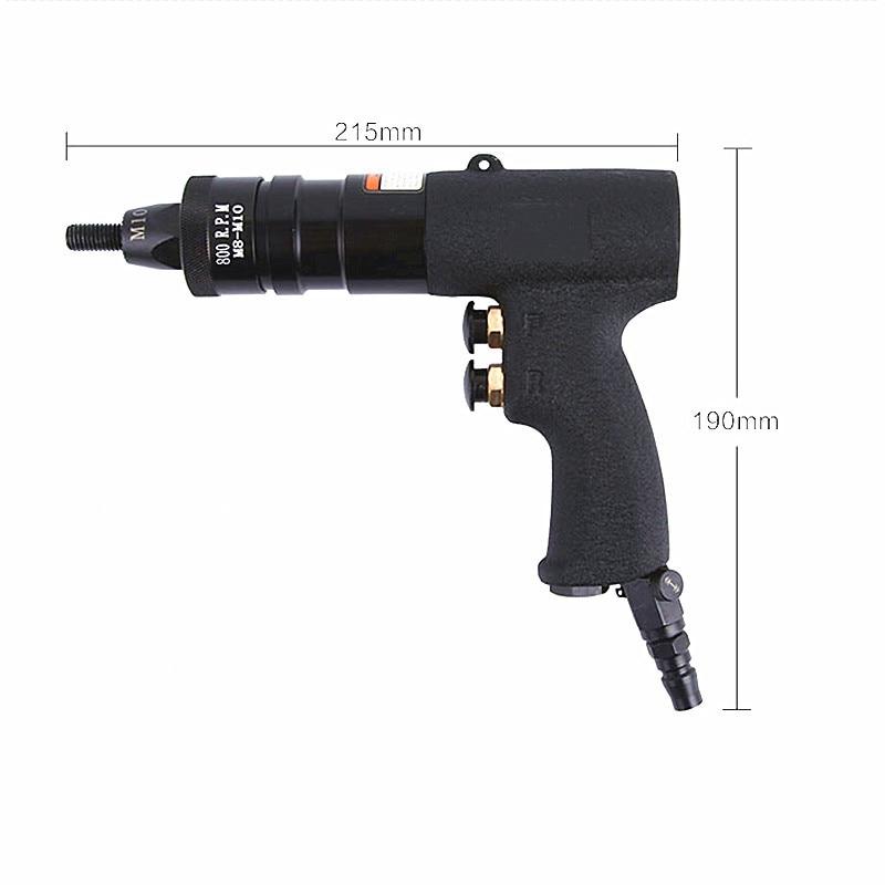 kiváló minőségű taiwan pneumatikus szegecs anya pisztoly M6 M8 - Elektromos kéziszerszámok - Fénykép 3