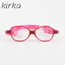 Kirka Baby Unbreakable Eyeglass Frames Flexible Eyewear Cute Fashion Optical Prescription Spectacle Glasses Frame For Children
