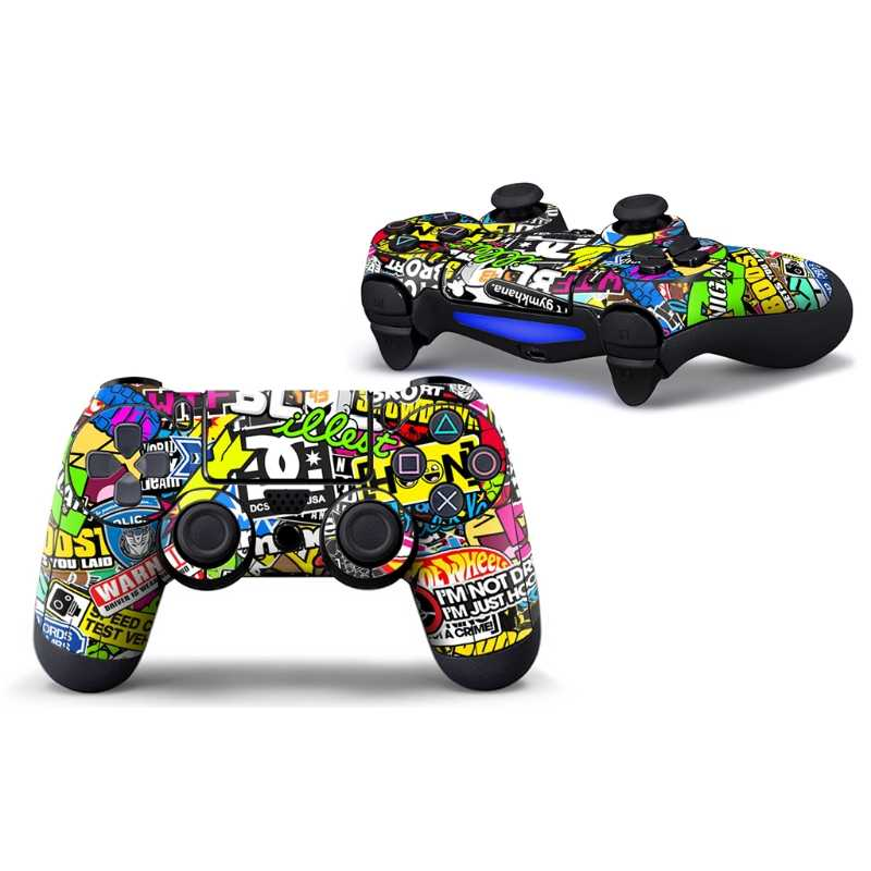 Vinyl Decorative Sticker Skin Cover Decal Wrap For Sony Playstation 4 Controller Star Protector Skins Cover For PS4 Controle
