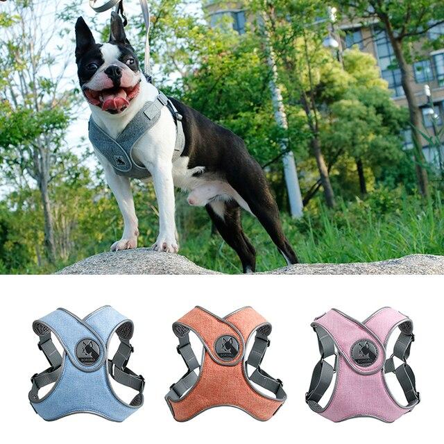 Cablaggio del cane Della Maglia Choke Spedizione X Step-In Maglia Morbida Cablag
