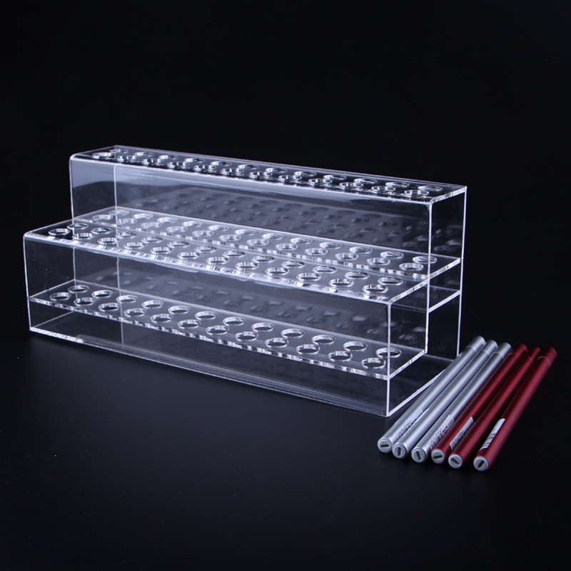 HOLDER CLEAR ACRYLIC PEN DISPLAY STAND RACK