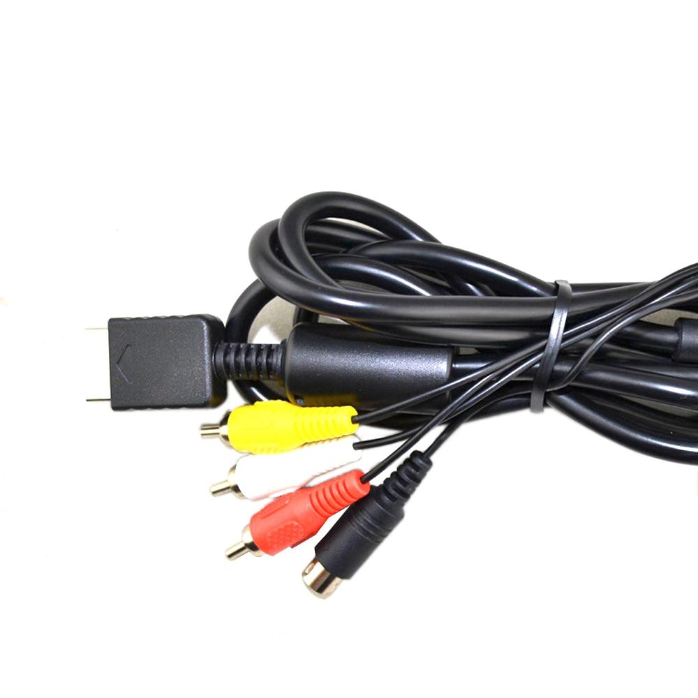 S-Vidéo AV Audio Vidéo Câble pour PS2 pour PS3 S vidéo câble